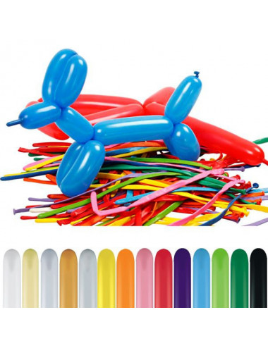 Balony rurki do modelowania Qualatex 260q