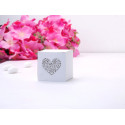 Pudełko z ornamentem serce