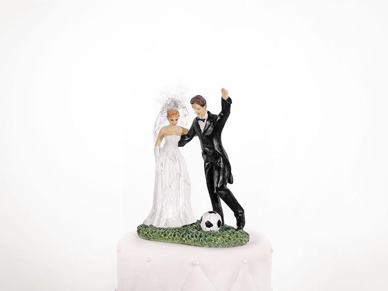 Figurka na tort piłkarz