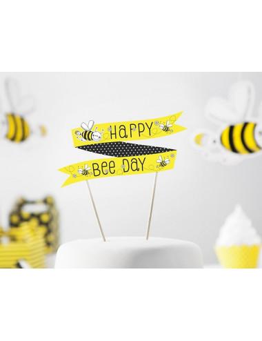 Dekoracja tortu na pikach Pszczółka