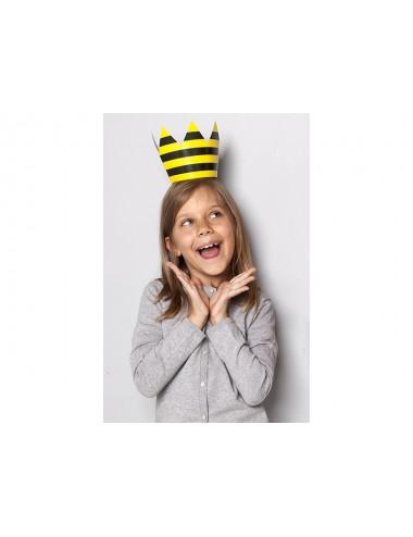 Korony papierowe Pszczółka