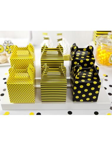 Pudełka na słodkości pszczółka