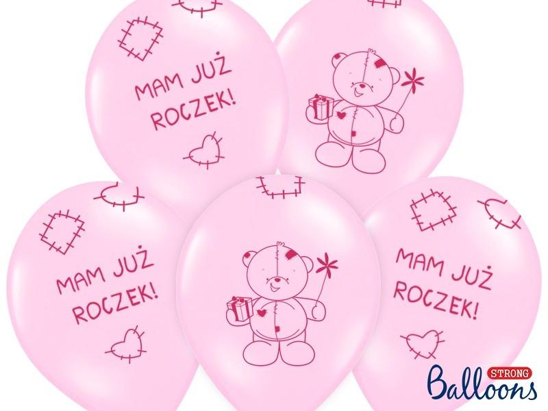 Balony mam już roczek