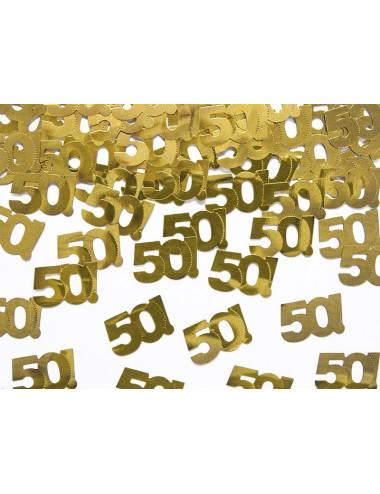 Konfetti - liczba 50