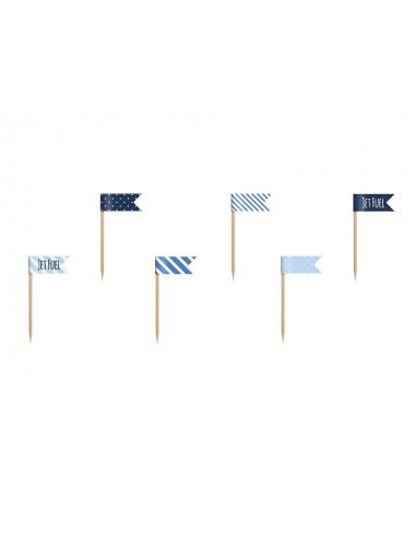 Flagi na piku Samolocik