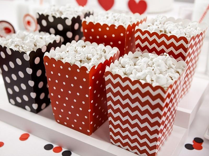 Pudełka na popcorn Biedronka