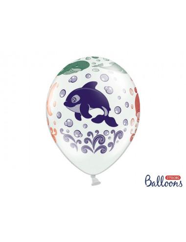 """Balony zwierzęta z oceanu 14"""""""