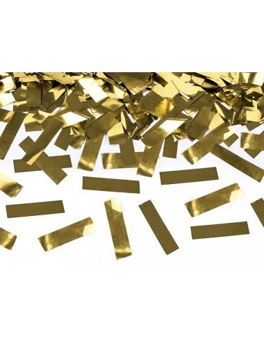 Wystrzałowe konfetti tuba srebrne prostokąty