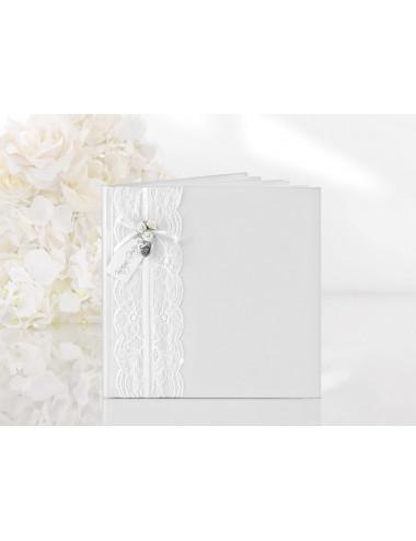 Księga gości weselnych biały Vintage