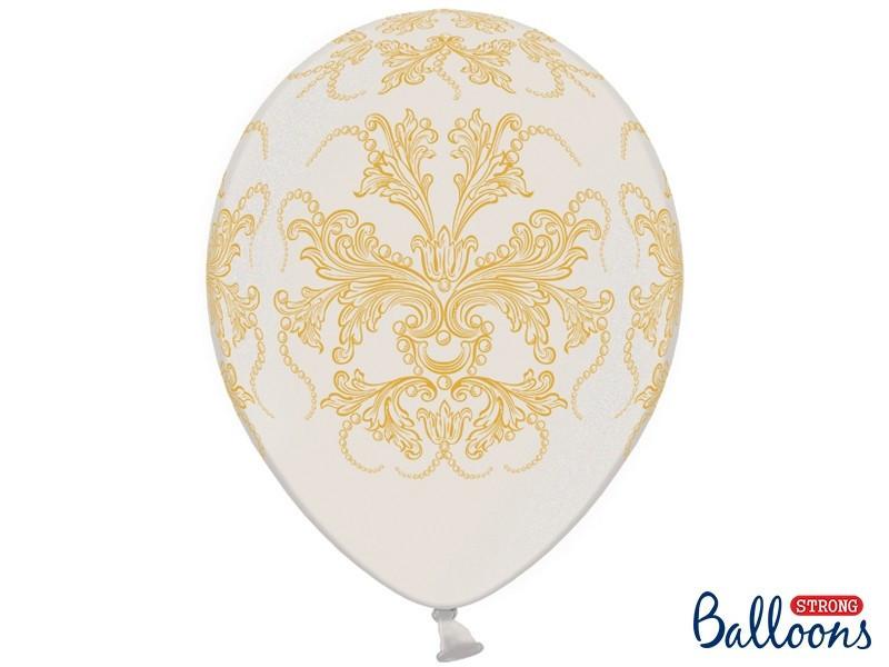 Balony z ornamentem
