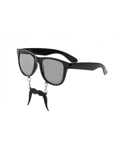 Okulary z wąsem