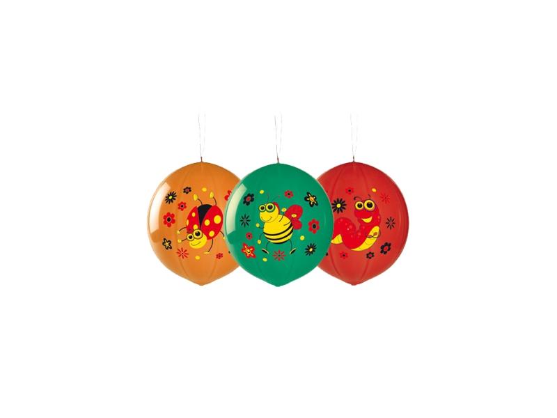 Balony piłki ze wzorem