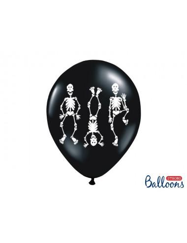 Balony Halloween Kościotrupy