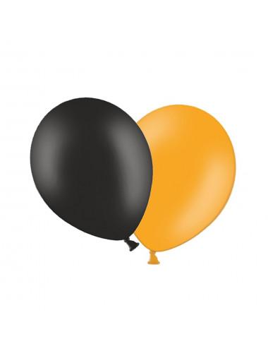 """Balony pastelowe 14"""" BELBAL pomarańczowe lub czarne"""