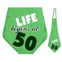 Krawat na 50 urodziny