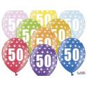 Balony metaliczne z nadrukiem 50