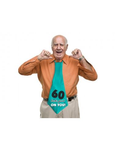 Krawat na 60 urodziny
