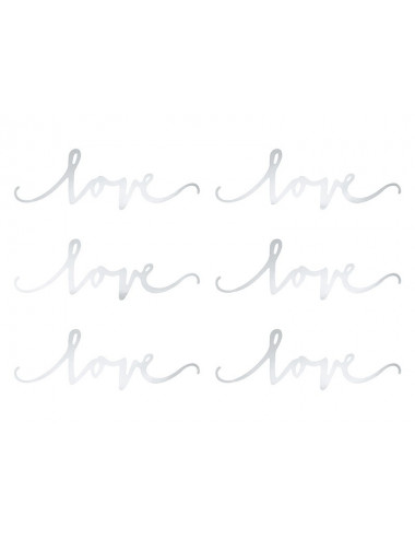 Dekoracja Love