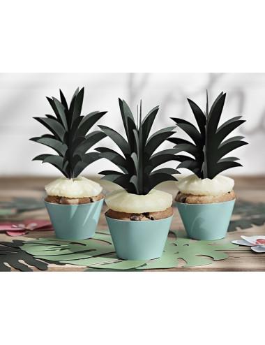 Karteczki na piku liście ananas