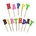 Świeczki Happy Birthday