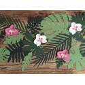Dekoracja papierowa Orchidea Aloha