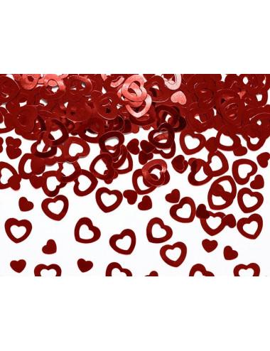 Konfetti w kształcie serca