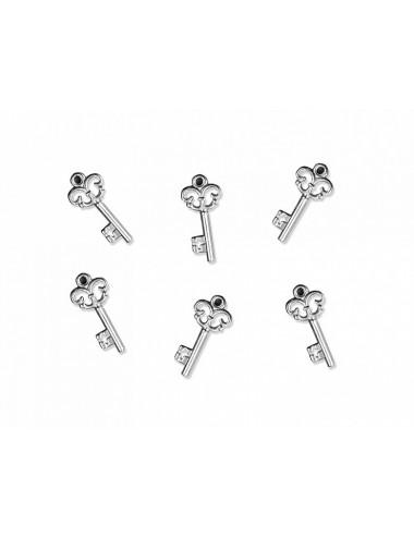 Zawieszki srebrne kluczyki