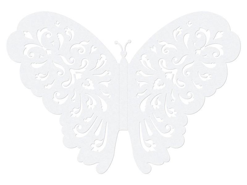 Dekoracyjny motyl papierowy