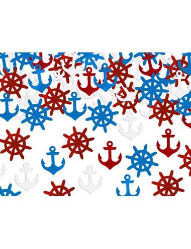 Konfetti marynistyczne ahoy