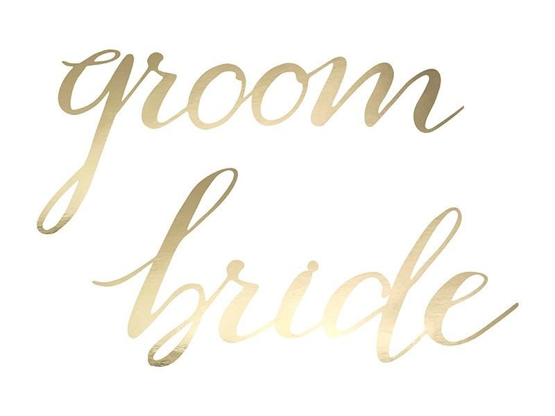 Zawieszki - Bride groom