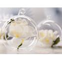Kule szklane- do kwiatowych dekoracji
