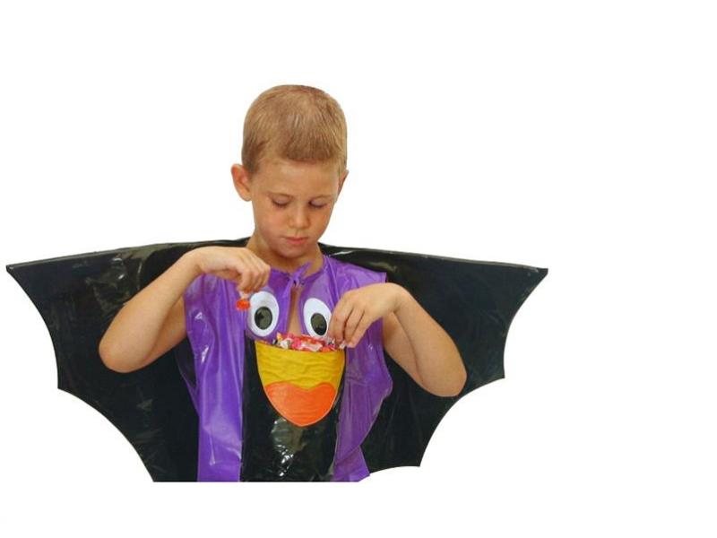 Strój nietoperza dla dzieci na HALLOWEEN