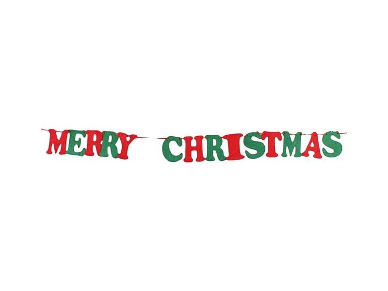 """Girlanda filcowa """"Merry Christmas"""""""