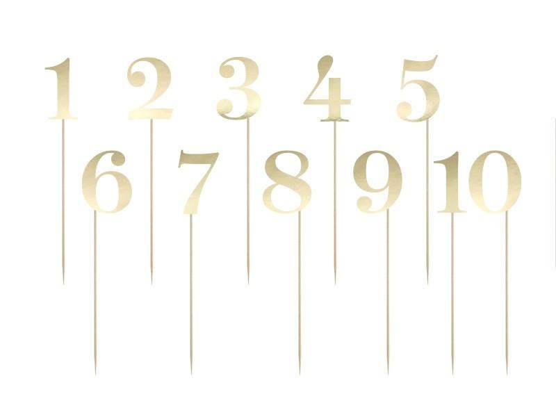 Numery na stół