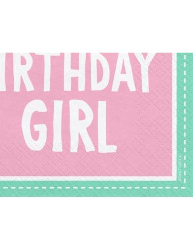 Serwetki trójwarstwowe 1st Birthday
