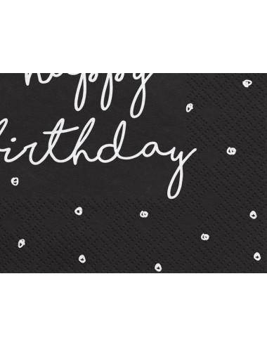 Serwetki Happy Birthday