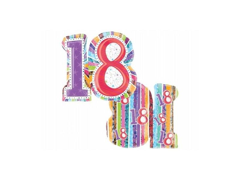 """Balon foliowy 18"""" urodzinowy"""