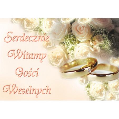 Plakat ślubny