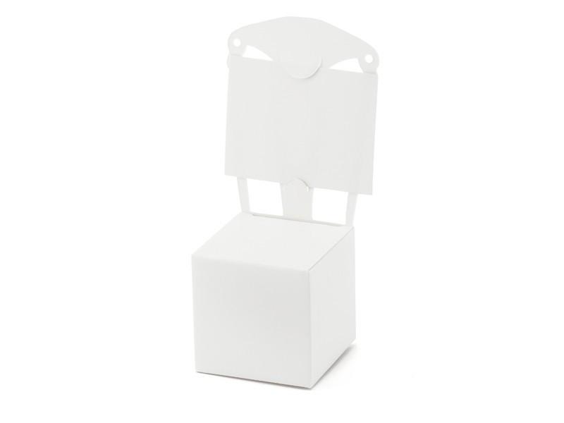 Pudełko/winietka krzesełko
