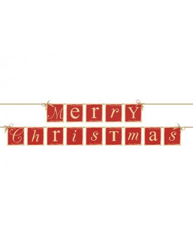 "Baner "" MERRY CHRISTMAS """