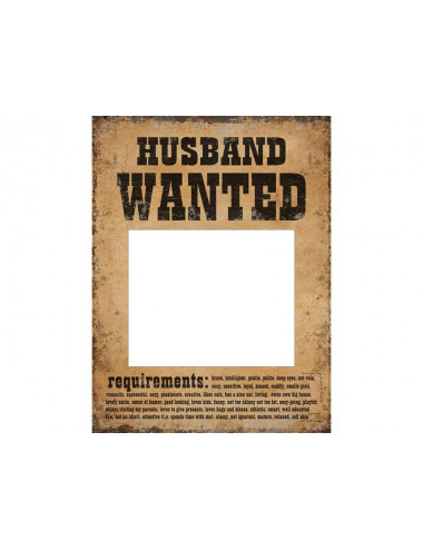 Tabliczki Husband Wife Wanted