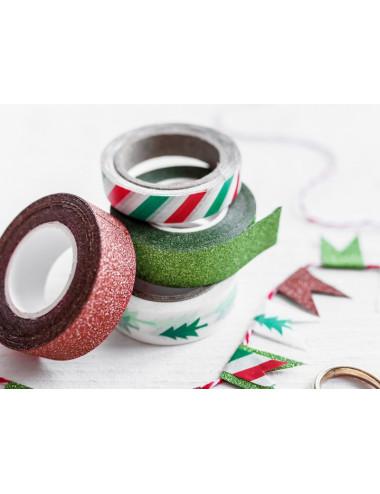 Taśma dekoracyjna Merry Xmas