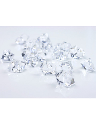 Akrylowy lód - kryształki