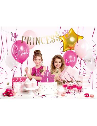 Balony dla księżniczki z nadrukiem Princess