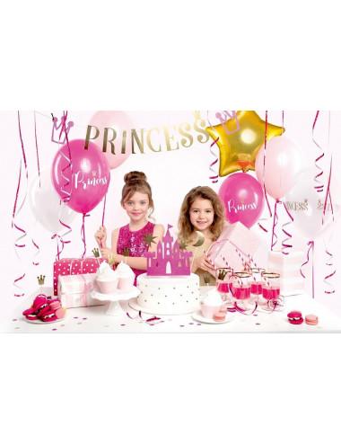 Zestaw dekoracji party Księżniczka