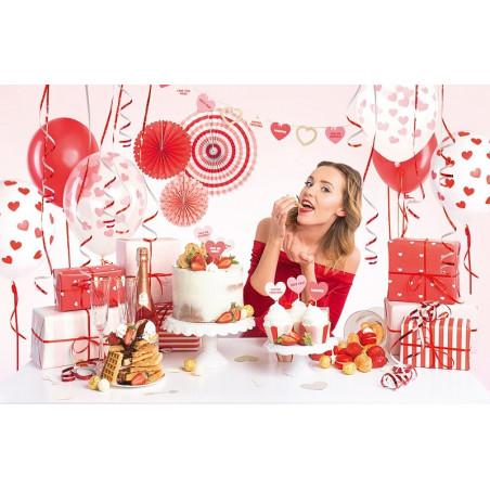 Zestaw dekoracji party - Sweet Love