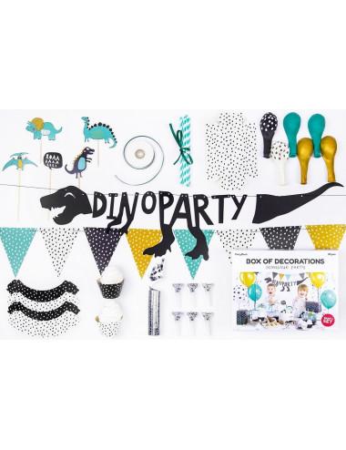 Zestaw dekoracji party - Dinozaury