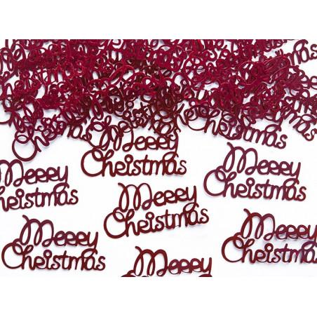 """Konfetti napis """"MERRY CHRISTMAS """""""