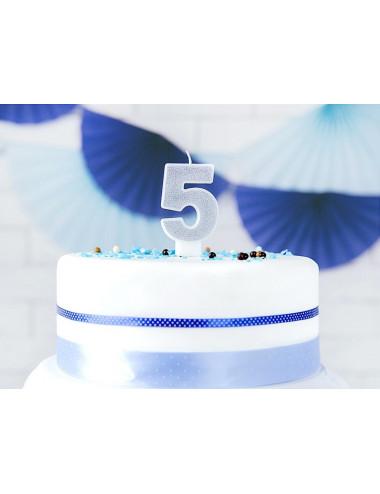 Świeczka urodzinowa Cyferki