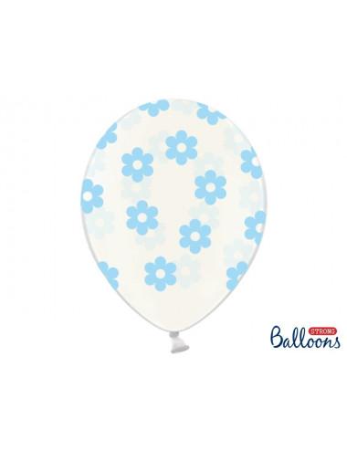 Balony w kwiatki
